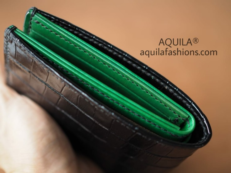crocodile leather wallet singapore