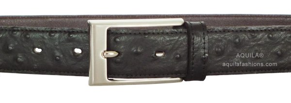 ostrich skin leather belt singapore